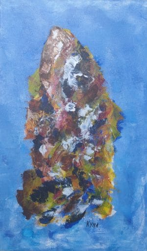 Ithaque, art abstrait, Kyna de Schouël artiste peintre