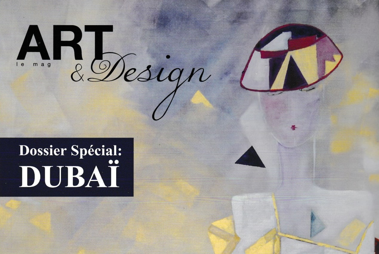 Art & Design magazine août septembre octobre 2019, Kyna de Schouël artiste peintre