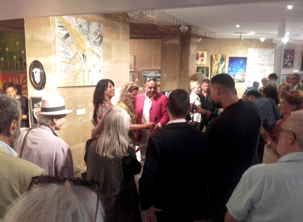 Paris Art Show septembre 2019, Kyna de Schouël artiste peintre