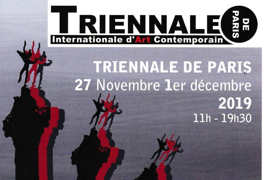 Participation à la Triennale de Paris Bastille du 27 novenmbre au 1er décembre 2019, au Bastille Design Center